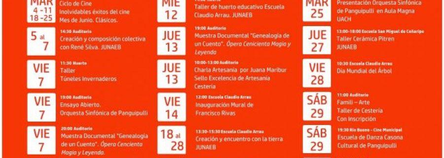 AFICHE PROGRAMACIÓN JUNIO 2019 Casona Cultural Panguipulli jpg b 1