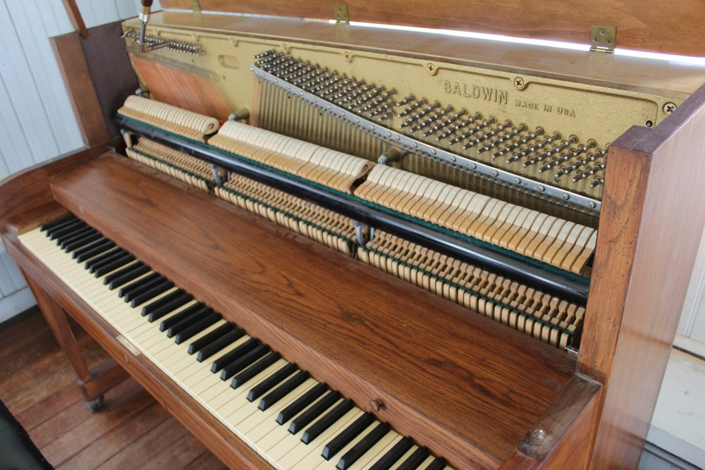 Piano llegó a Panguipulli donado por la Fundación Notes for Growth