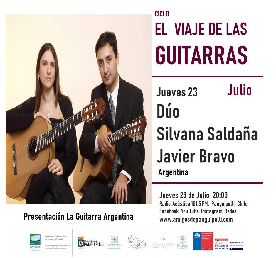 El viaje de las guitarras - Saldaña - Bravo